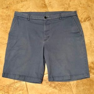 Izod Saltwater men's stretch blue shorts size 36